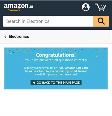 Amazon Gift Card Questions - get rs 1000 amazon gift card amazon great indian sale discounts offers