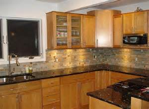 black backsplash in kitchen kitchen kitchen backsplash ideas black granite countertops cottage laundry rustic medium