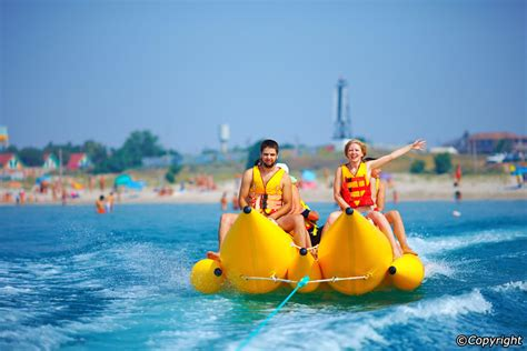 banana boat ride musandam 10 best water sports in bali great activities on bali