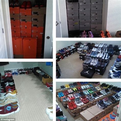 colin kaepernicks house san francisco 49ers colin kaepernick s collection of 500 pairs of sneakers daily