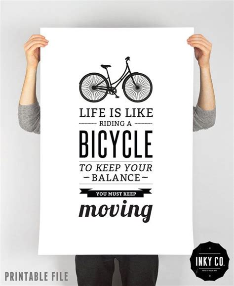Framewoods Poster Quotes 4 libby cole typographic quote printable file vintage retro poster bicycle quote print