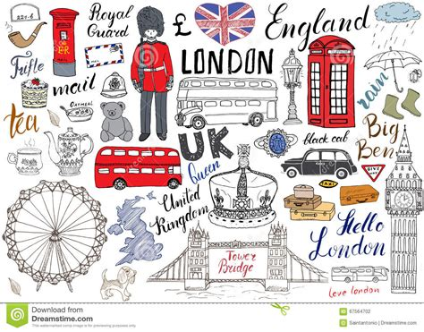 London City Doodles Elements Collection Hand Drawn Set Coloring Book Cover L