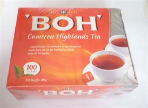 Teh Oolong My Tea boh plantation cameron highlands tea 100 bags malaysia tea bags oolong tea ebay