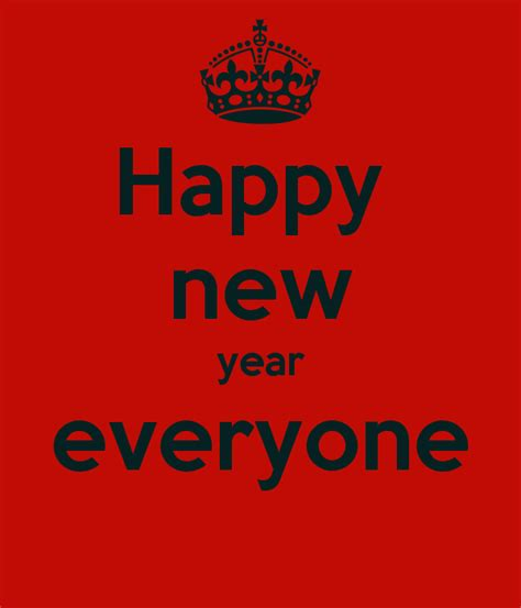happy new year everyone poster owen rourke keep calm o