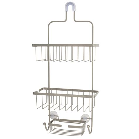 exquisite deluxe large shower caddy with three baskets 2