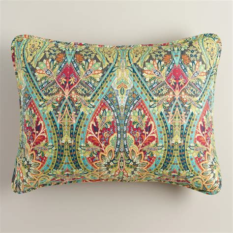 bed pillow shams alessia pillow shams set of 2 world market