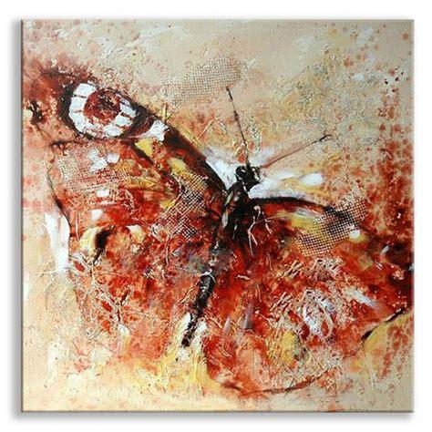 Design Wall Stickers tableau peinture papillon rouge tableau peinture abstrait