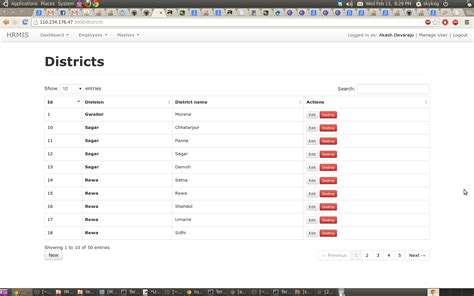 tutorial bootstrap data table mysql rendering database view in datatables rails