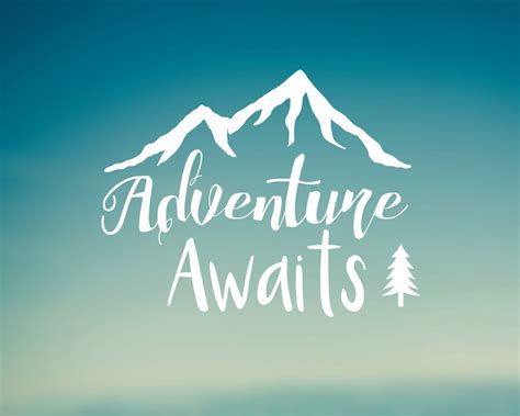 Adventure Awaits by Adventure Awaits Decal Car Decal Laptop Decal Water