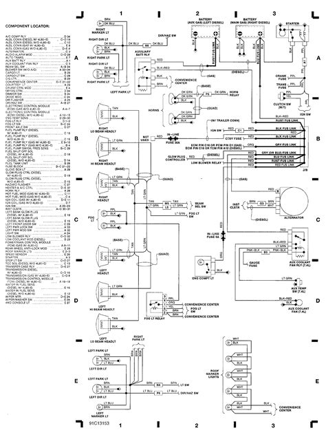 2008 Chevy Tahoe Parts Diagram Engine Compartment | Wiring