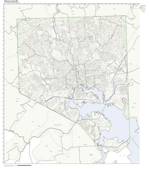 maryland map by zip code baltimore county zip code map