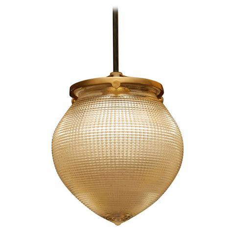 Acorn Pendant Light Holophane Acorn Pendant Fixture At 1stdibs