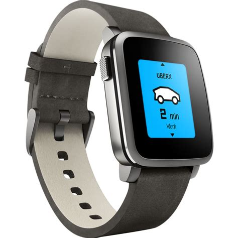 Pabble Time pebble time steel smartwatch 511 00024 b h photo