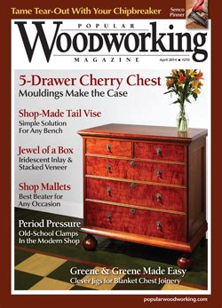Popular Woodworking Sweepstakes 2014 - april 2014 210 popular woodworking magazine