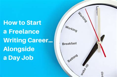 how to start a freelance writing career alongside a day