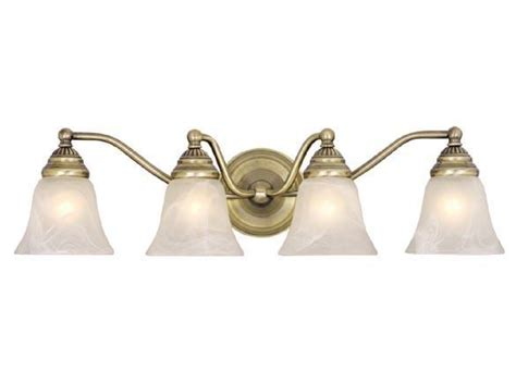 Discount Vanity Lights by Antique Brass Vaxcel Standford 4l Vanity Bathroom Wall Discount Light Vl35124a Ebay