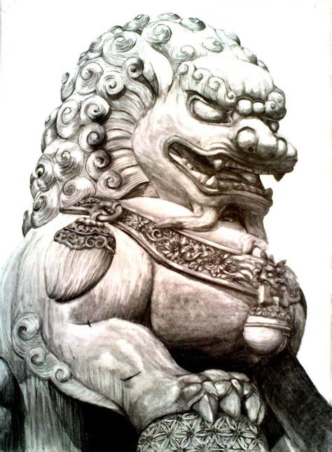 japanese foo dog tattoo designs guardian lion or foo dog by imaginecreativmonkey d6wbsxv