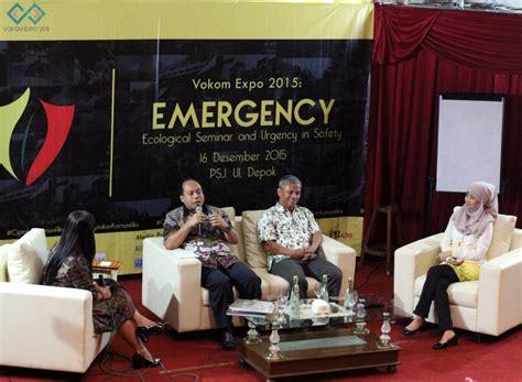 Lu Emergency Di Jakarta Seminar Emergency Ui Gencarkan Komunikasi Bencana Di Indonesia Kus Update