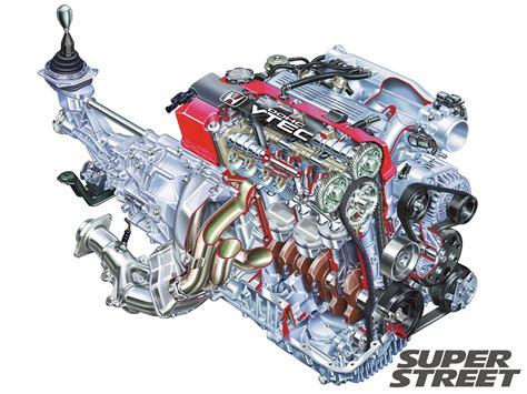 how does a cars engine work 1996 honda passport head up display how vtec i vtec works super street magazine
