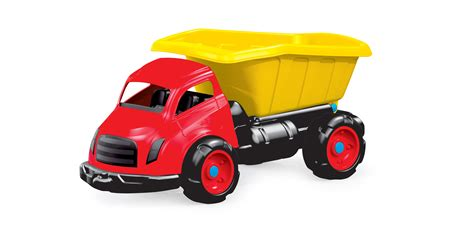 mega dump truck mega large 76 cm kids toy dump work construction tipper 4