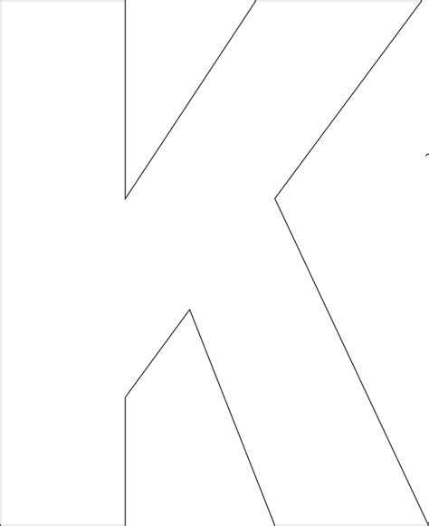 best photos of printable large letter k large printable
