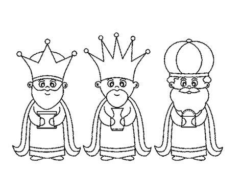 imagenes de reyes magos faciles los reyes magos para imprimir y colorear colorear im 225 genes