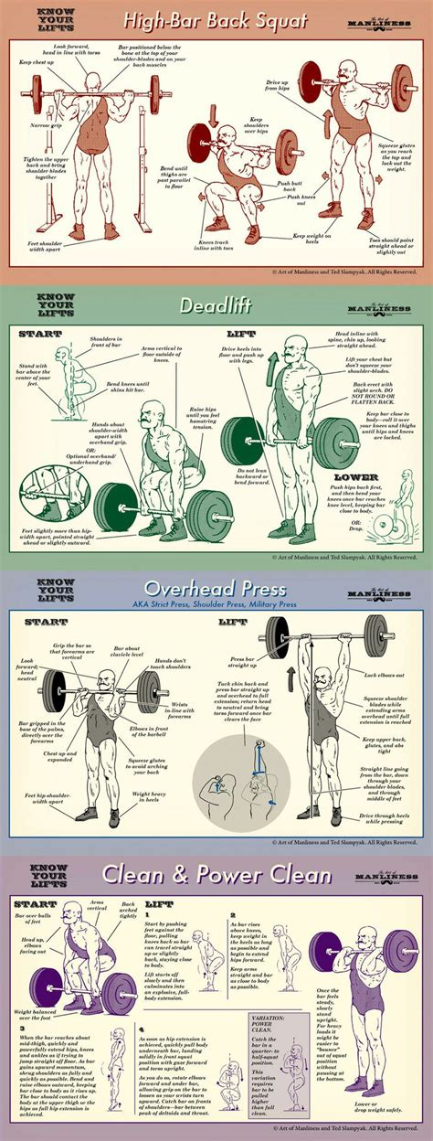 squat bench deadlift overhead press how to deadlift an illustrated guide sexy online