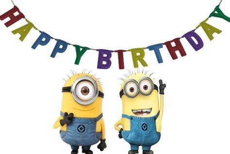 happy birthday minion images happy minion happy birthday clipart clipartsgram