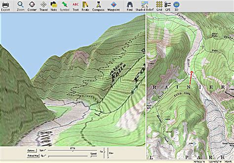 3d topographical map of oregon free shipping national geographic topo oregon map software