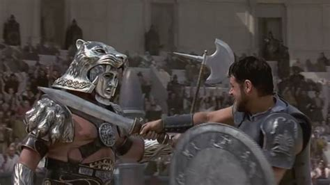 gladiator film fight scene throwback of the week gladiator the battle with a