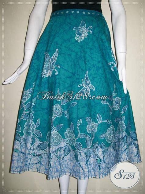 rok batik tulis model tali lilit rok batik motif floral