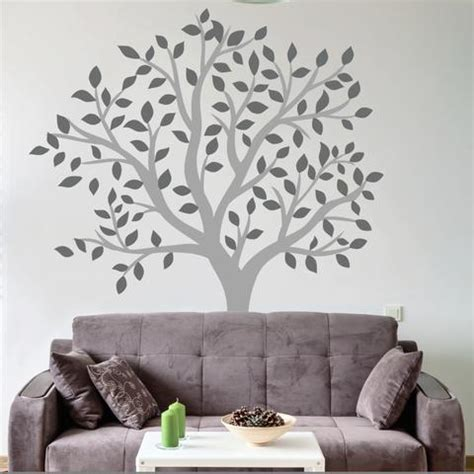 Tree Stickers For Walls tree amp flower wall stickers and wall vinyls by wallboss