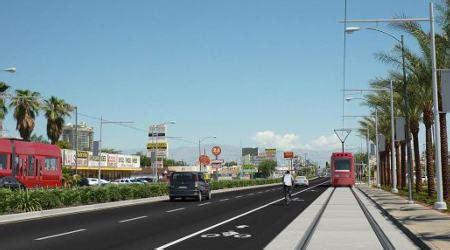 las vegas light rail rail gov sandoval signs bill to seek funds for las