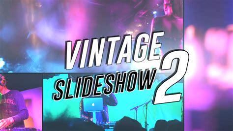 Vintage Slideshow Ii Final Cut Pro X Template Cut Pro X Slideshow Template