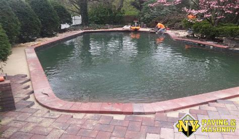 Pool Patio Pavers Installation And Repairing Your Pool Paver Patios