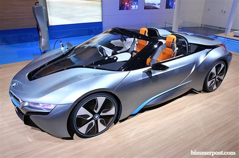 Bmw I8 Spider by 2012 Bmw I8 Spyder Concept
