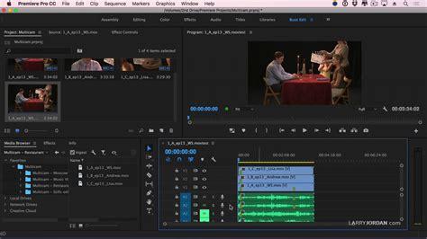 adobe premiere pro multicam adobe premiere pro cc create and configure a multicam