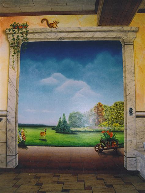 Trompe L Oeil Wall Murals maryline garbe trompe l oeil