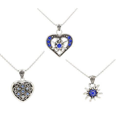 wholesale pendants for jewelry trendy wholesale jewelry 3 disc pendant necklace with blue