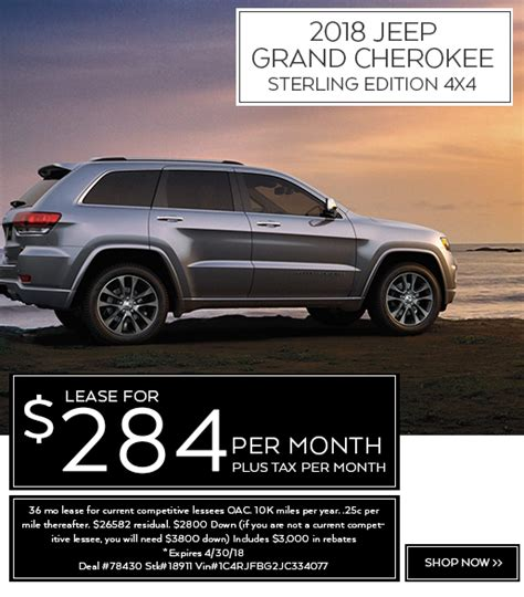 Normandin Chrysler Jeep by New Car Lease Specials Normandin Chrysler Dodge Jeep Ram