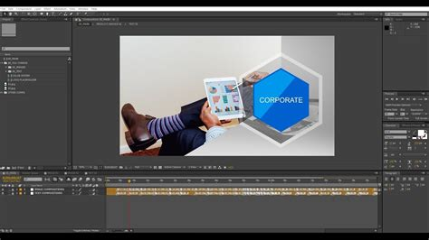 template after effects timeline after effects corporate timeline template tutorial youtube