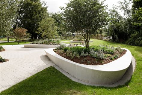 Precast Concrete Planter by Stevenage Town Centre Gardens By Hta Landscape 04