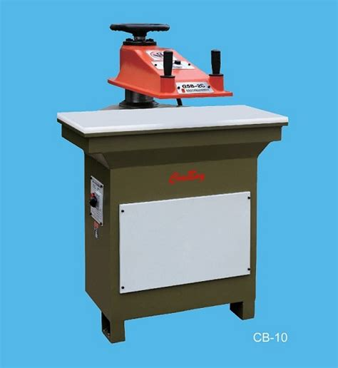swing beam press leather cutting machines and die cutting presses