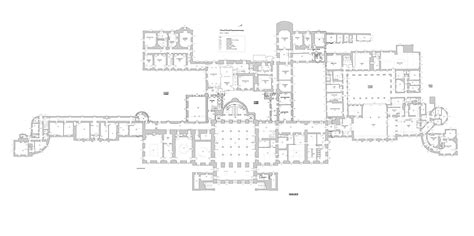 Floor Plan For House wentworth woodhouse floor plans rotheram england