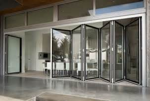 folding window walls folding glass walls eight systems of connected bi fold door panels offer hundreds of fold and