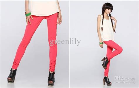 Top Slim Legging Original 100 stylish slim legs for plain color cotton can match almost all clothes with