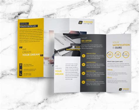 fold out brochure template creative corporation tri fold brochure template age themes