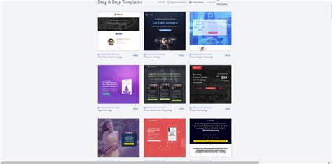 Leadpages Review 2018 How To Build Leadpages Landing Page Top10marketingtools Leadpages Free Templates