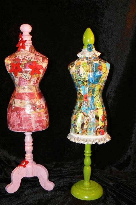 Decoupage Mannequin - 17 best images about dress forms on