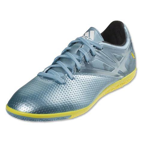 Adidas Messi 15 3 Indoor Original adidas messi 15 3 indoor soccer shoes matte metallic